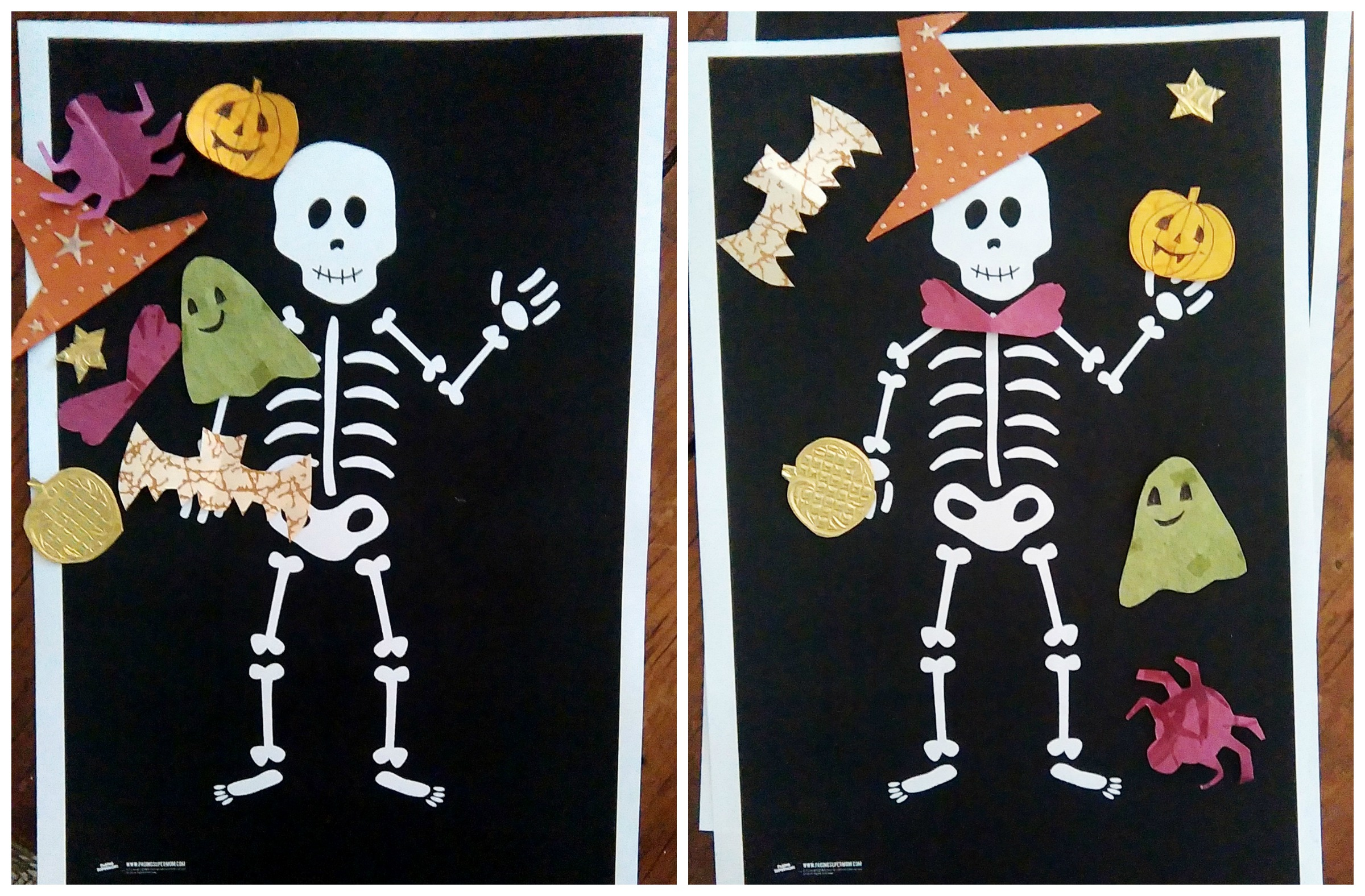 Squelette Halloween Bricolage Bordelaise By Mimiactivités And Sorties Pour Halloween