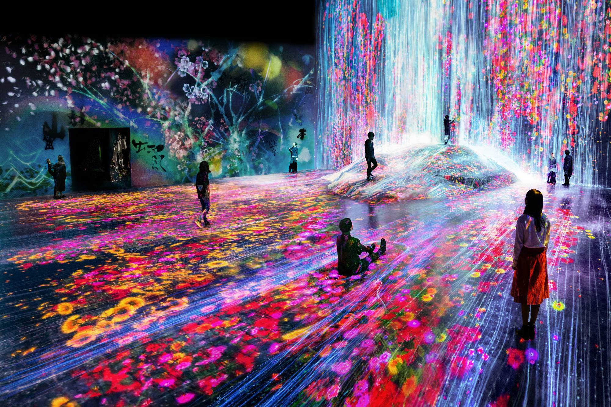 Arte Visual Group Mori Building Digital Art Museum Teamlab Borderless