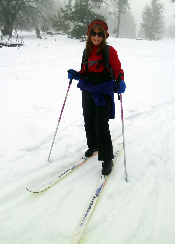 Mt. Laguna is my favorite place to cross-country ski. Photo Credit: Wendy Lemlin