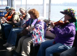 Cajun fiddlers. Credit: Wendy Lemlin