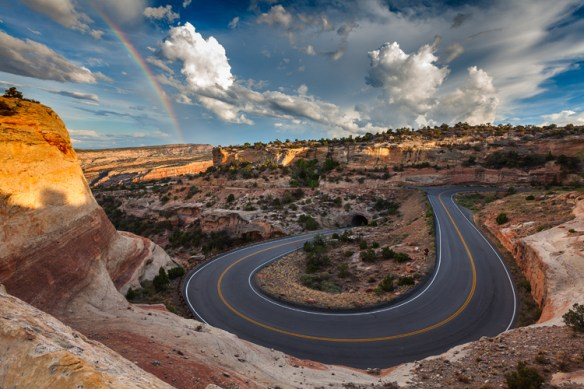 Colorado National Monument, near Grand Junction, is touted as one of the top places to find solitude in the US. Credit: Grand Junction Visitor & Convention Bureau