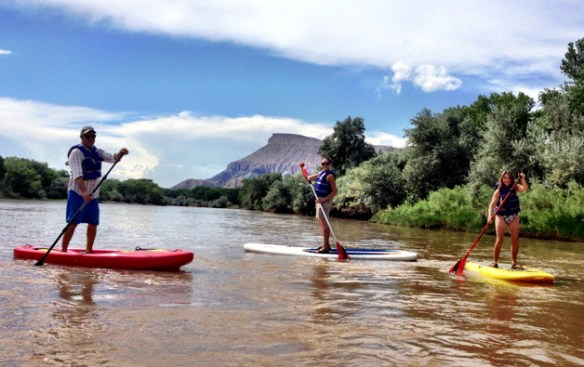 A Stand Up Paddleboard lesson on the Colorado River is the perfect way to spend a warm summer afternoon in Grand Junction, CO