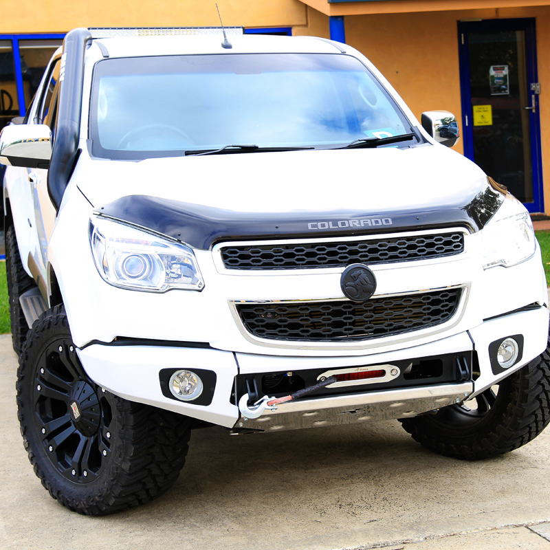 Bordbar Rhino 4x4 Holden Rg Colorado Front Bar | Border Off Road