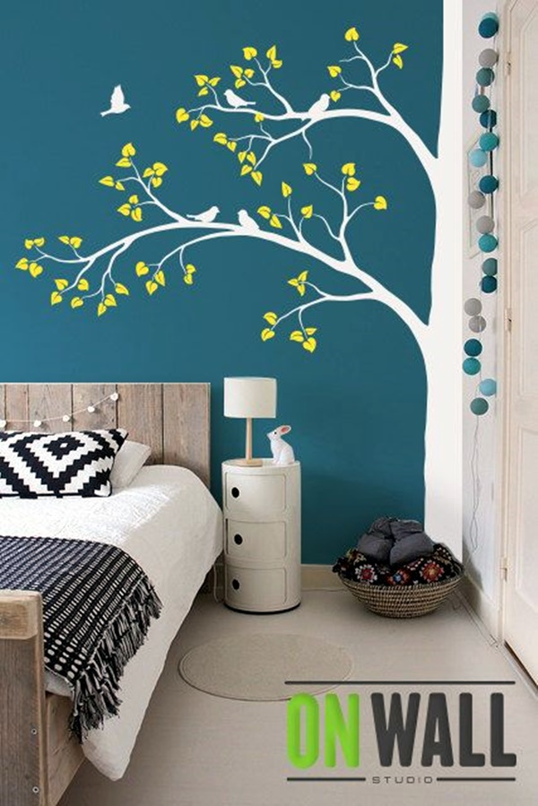 3d Wandgestaltung 40 Elegant Wall Painting Ideas For Your Beloved Home