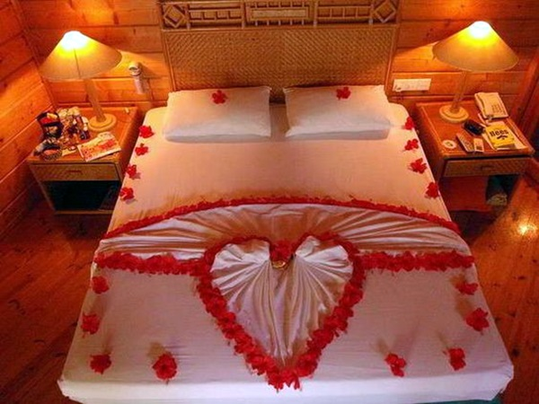 Tempat Tidur Pengantin 40 Wedding First Night Bed Decoration Ideas - Bored Art