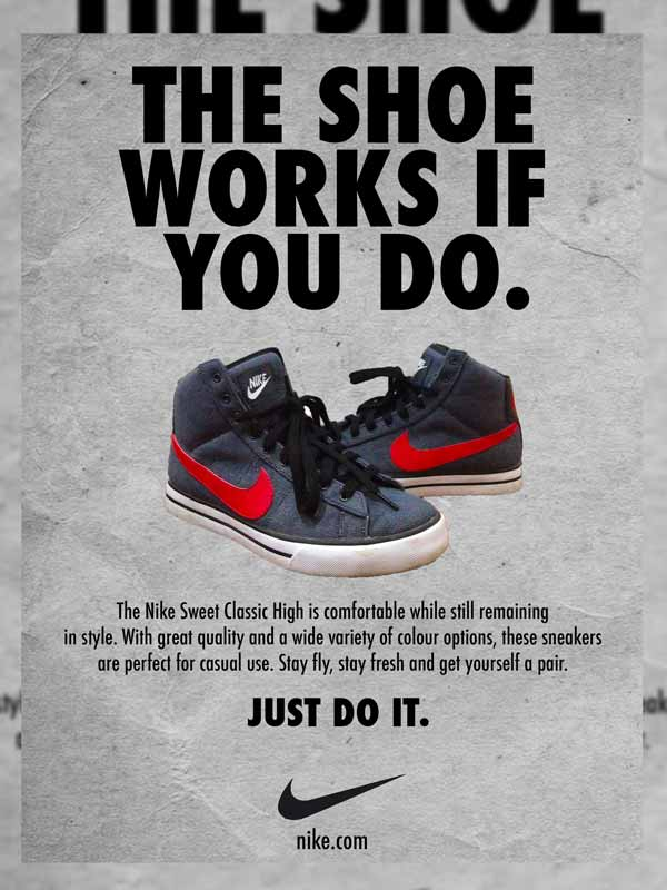 Nike The Shoe Works If You Do Ad