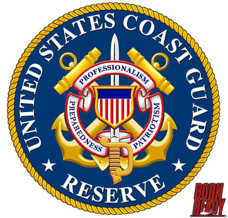 USCG Reserve Coast Guard Decal - Born Ready Apparel
