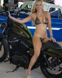 Born To Ride Biker Babe Melissa