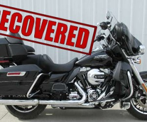 FIN Recovers 2014 Harley Davidson Motorcycle in Locked Trailer
