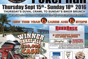 Phil Peterson's Poker Run September 15 – 18