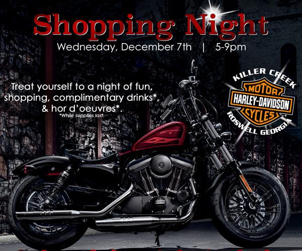 Friends & Family Shopping Night