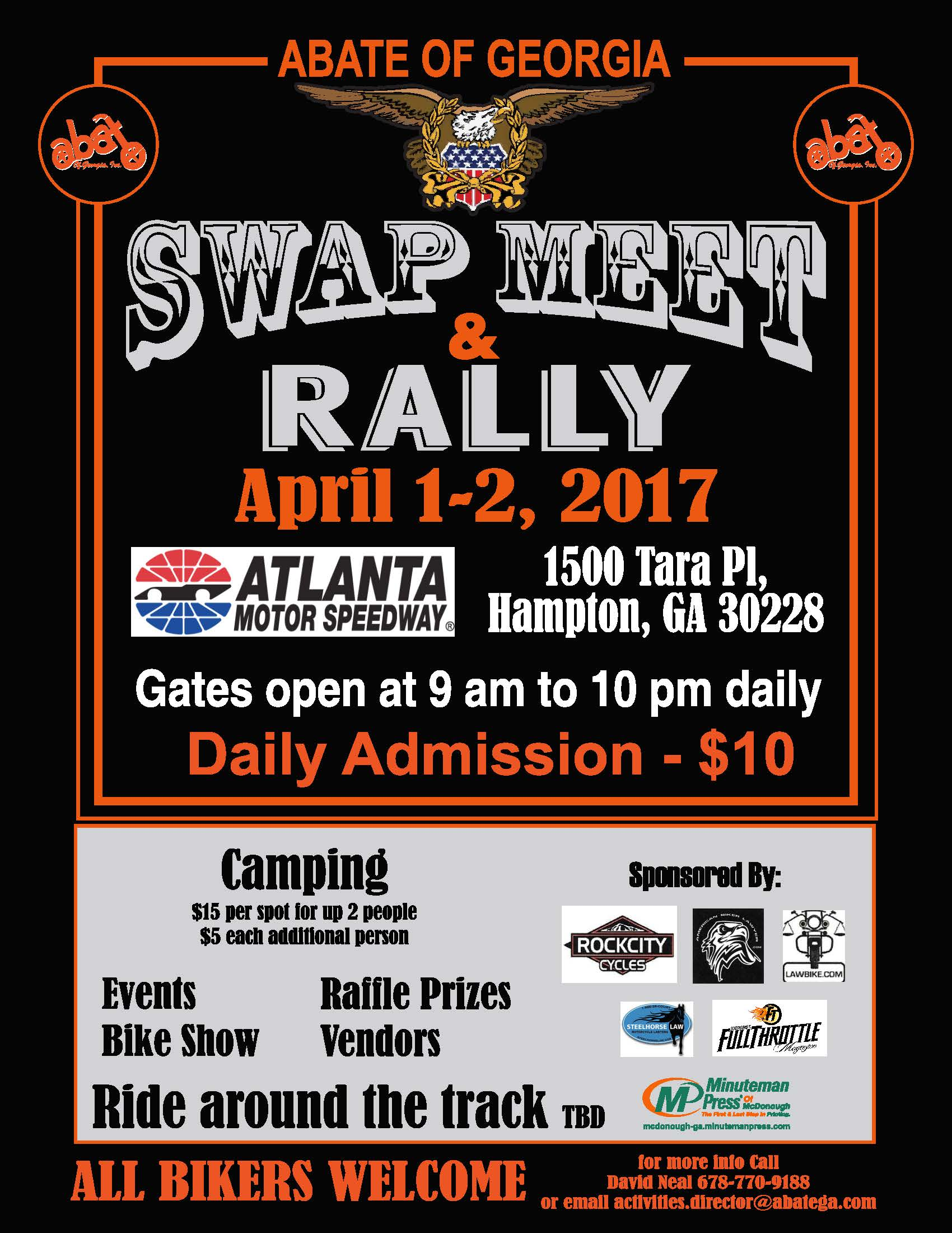 ABATE of Georgia Swap Meet Rally