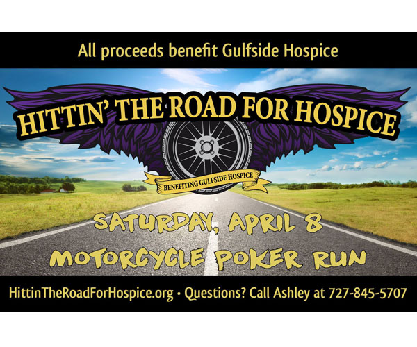 Hittin' the Road for Hospice - Motorcycle Poker Run