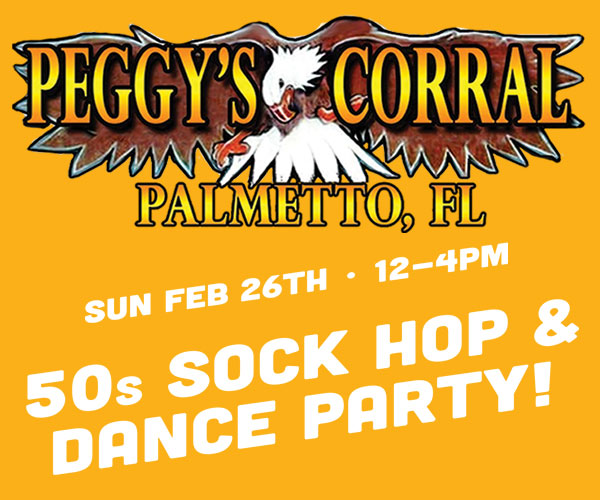 Peggy's Corral 50s Sock Hop and Dance Party