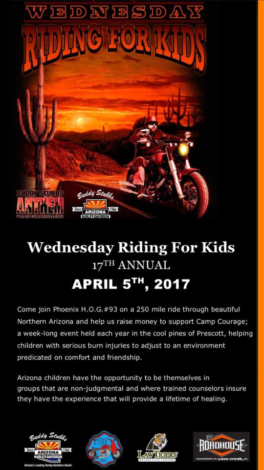 Wednesday Riding for Kids