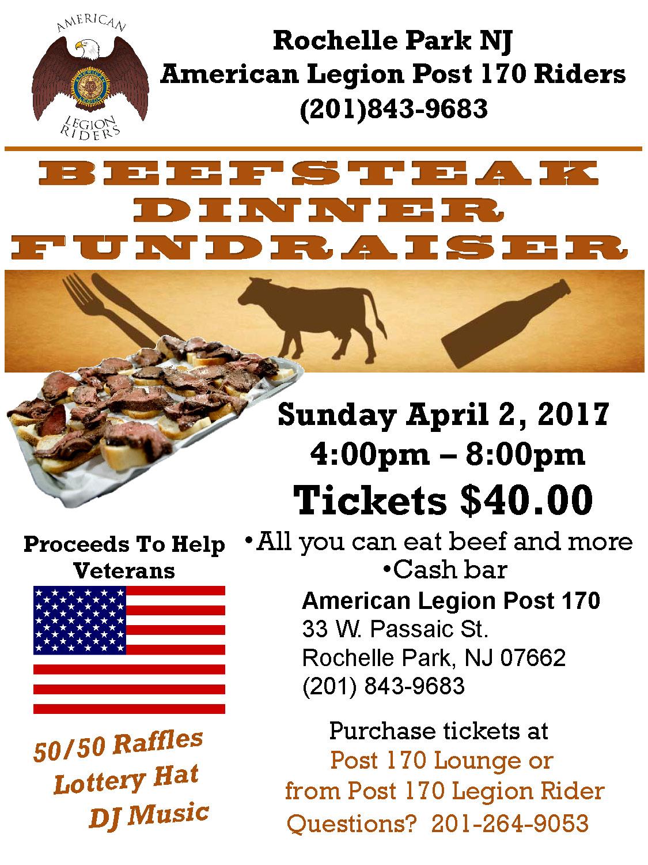 American Legion Riders Beefsteak Fundraiser