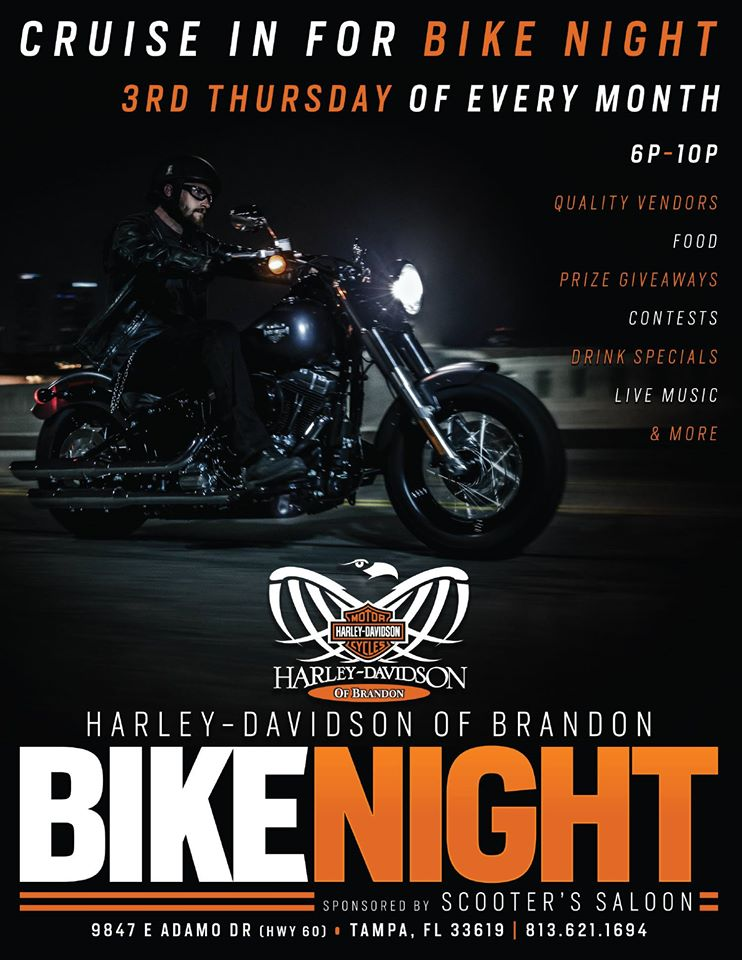 Bike Night at Brandon Harley-Davidson