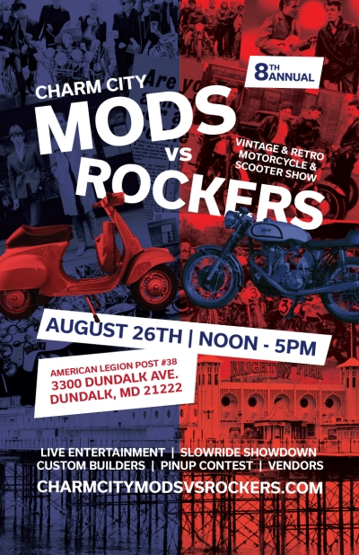 8th Annual Charm City Mods vs Rockers
