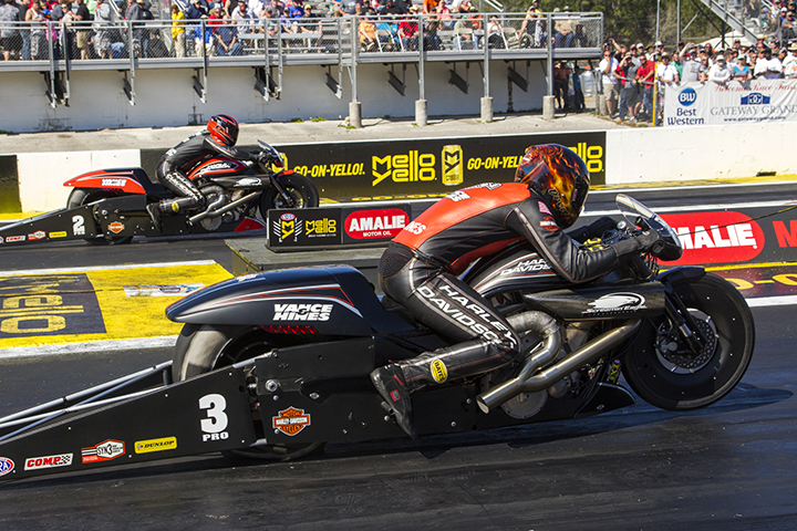 NHRA Gainesville All-Harley Final