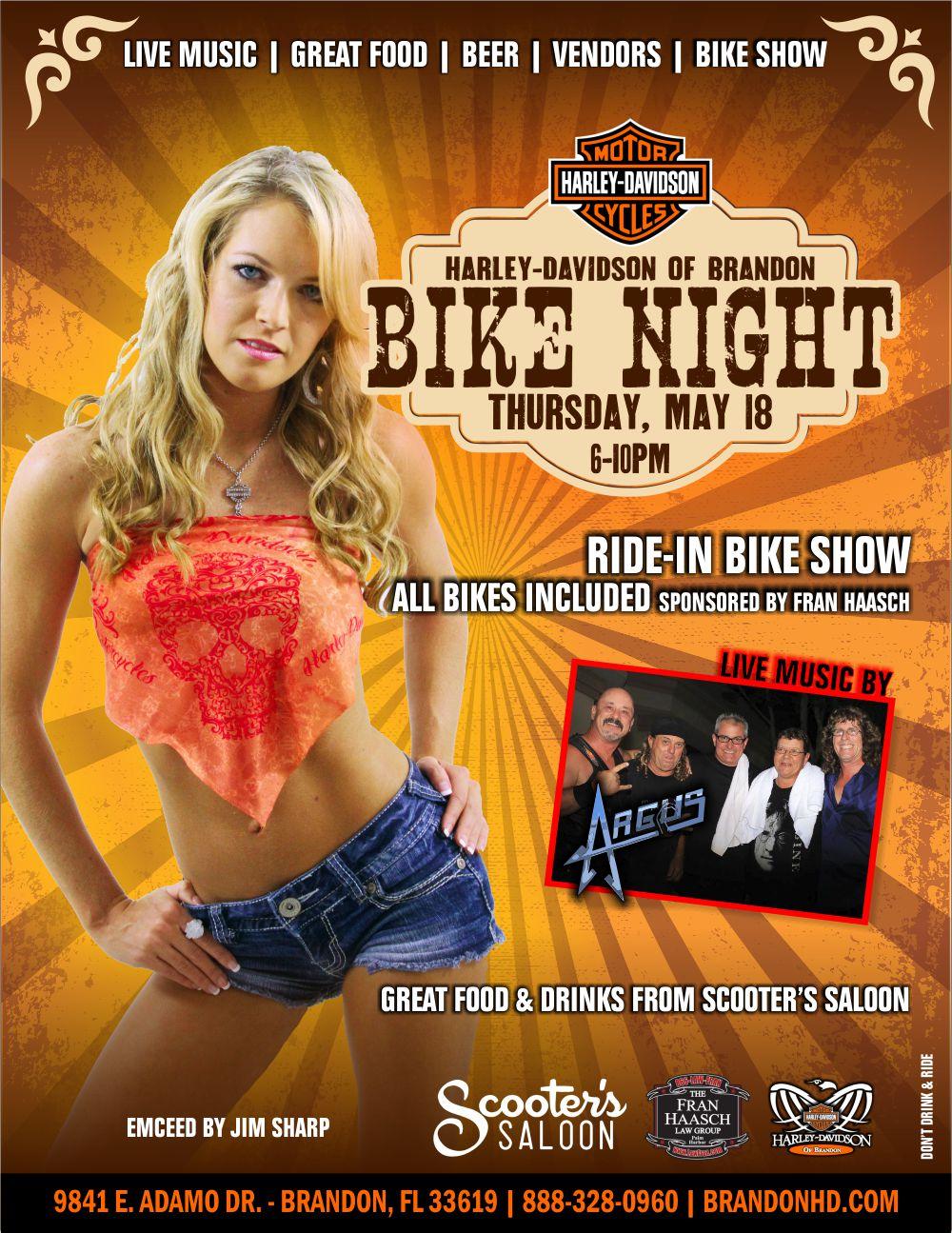 Bike Night at Brandon Harley-Davidson