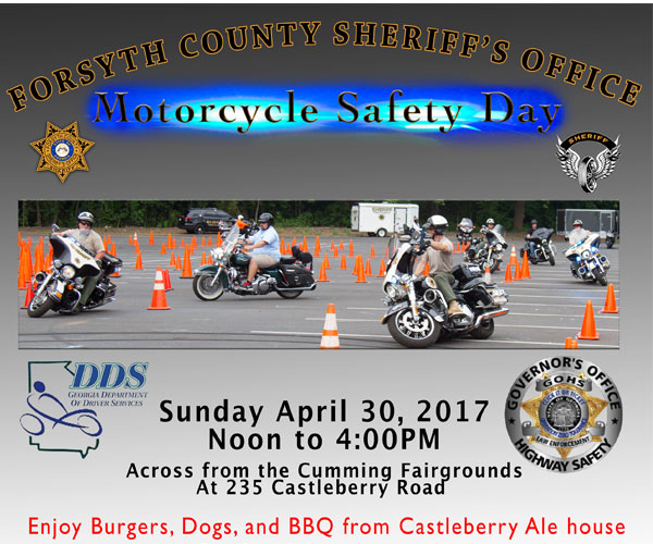 Forsyth County Sheriff's Office Motorcycle Safety Day