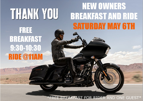 H-D Thunder Tower West New Owners Breakfast and Ride