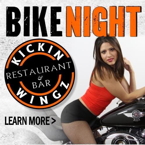 Bike Night at Kickin Wingz