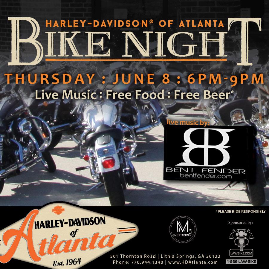 Bike Night with Bent Fender