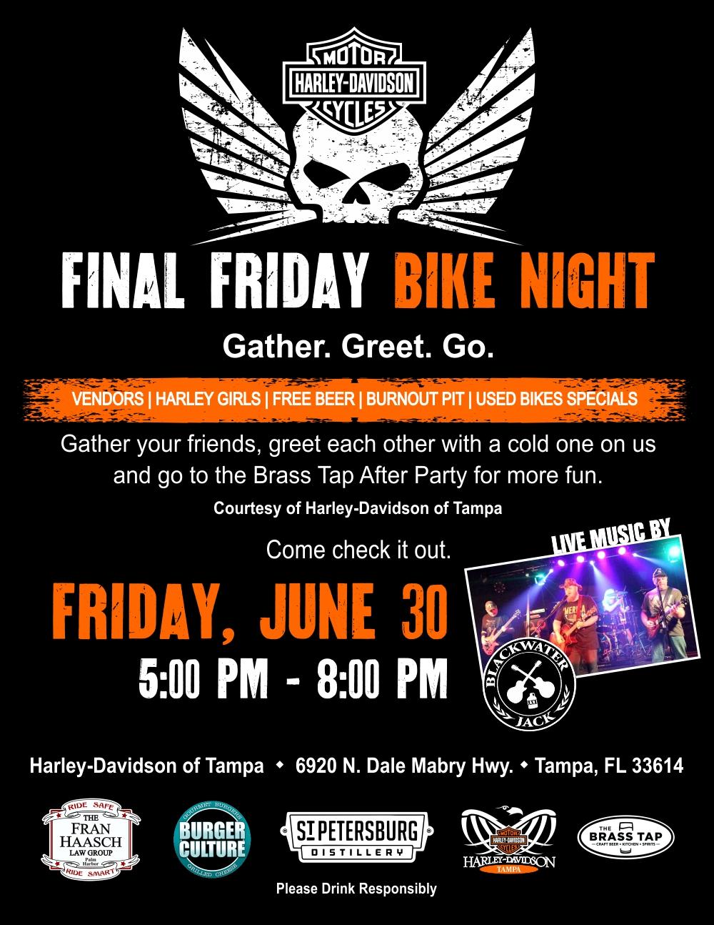 Final Friday Bike Night