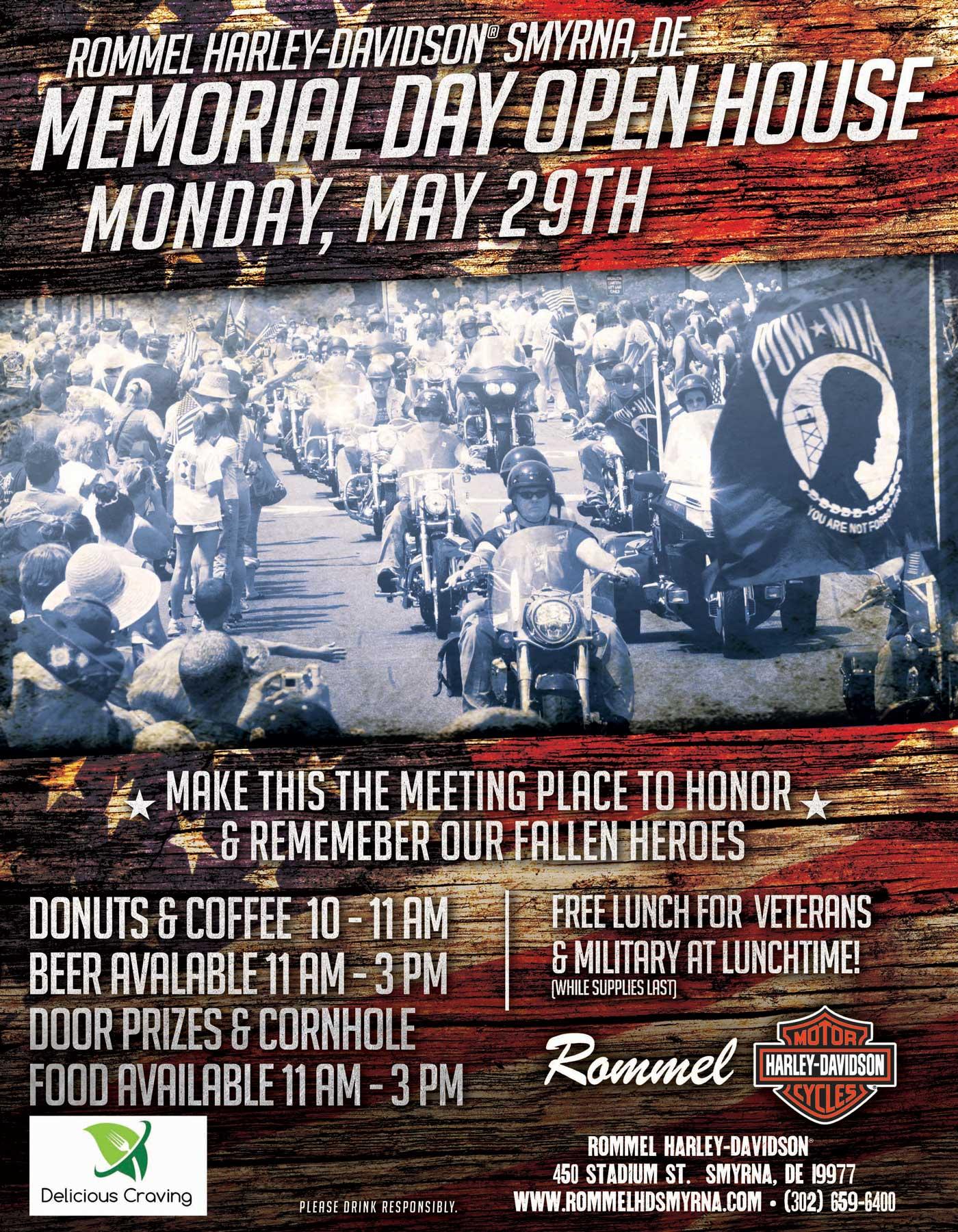 Memorial Day Open House