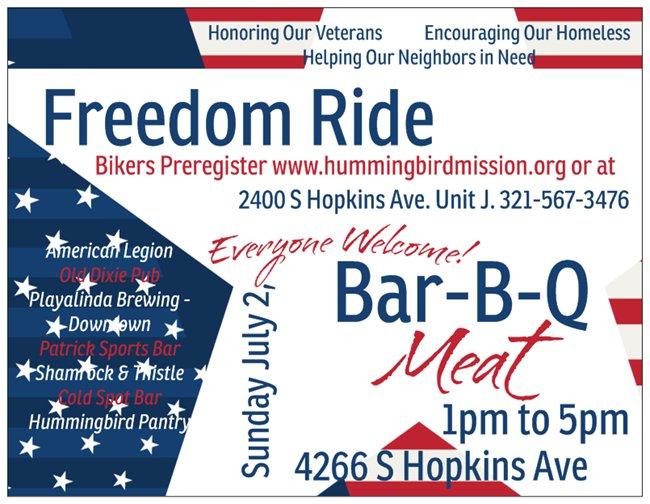 Freedom Ride & Bar-B-Q