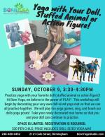 yoga with your doll event