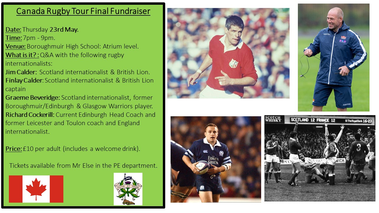 Canada Rugby Tour Final Fundraiser