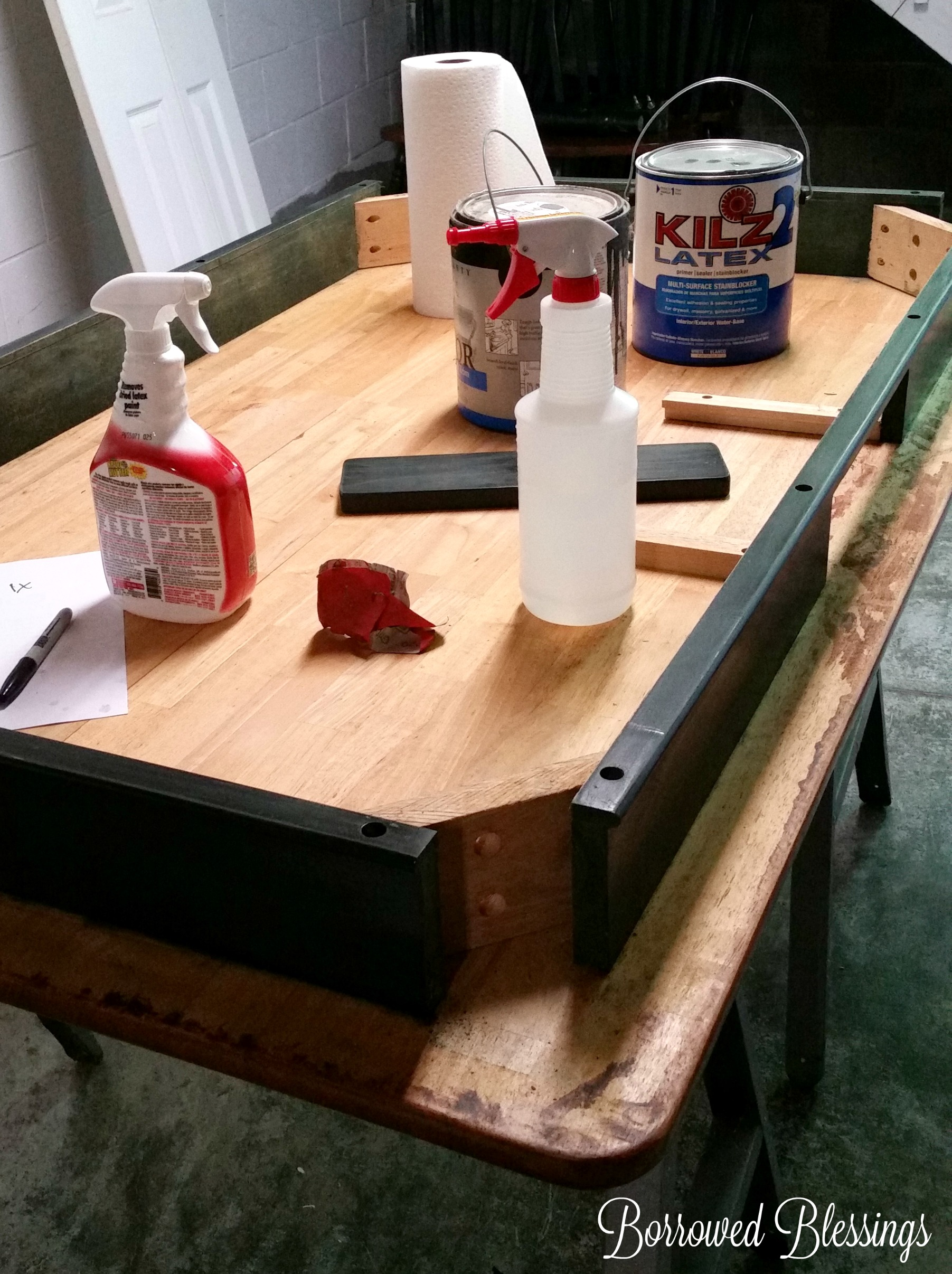 Refinishing A Dining Room Table Refinishing A Dining Room Table With Polyshades Borrowed