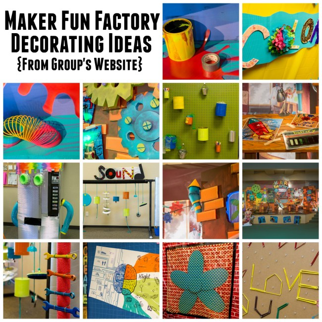 Group Publishing VBS 2017 - Maker Fun Factory - Decorating Ideas - BorrowedBlessings.net