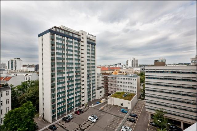 Über den Dächern Berlins, Hotel Sylter Hof