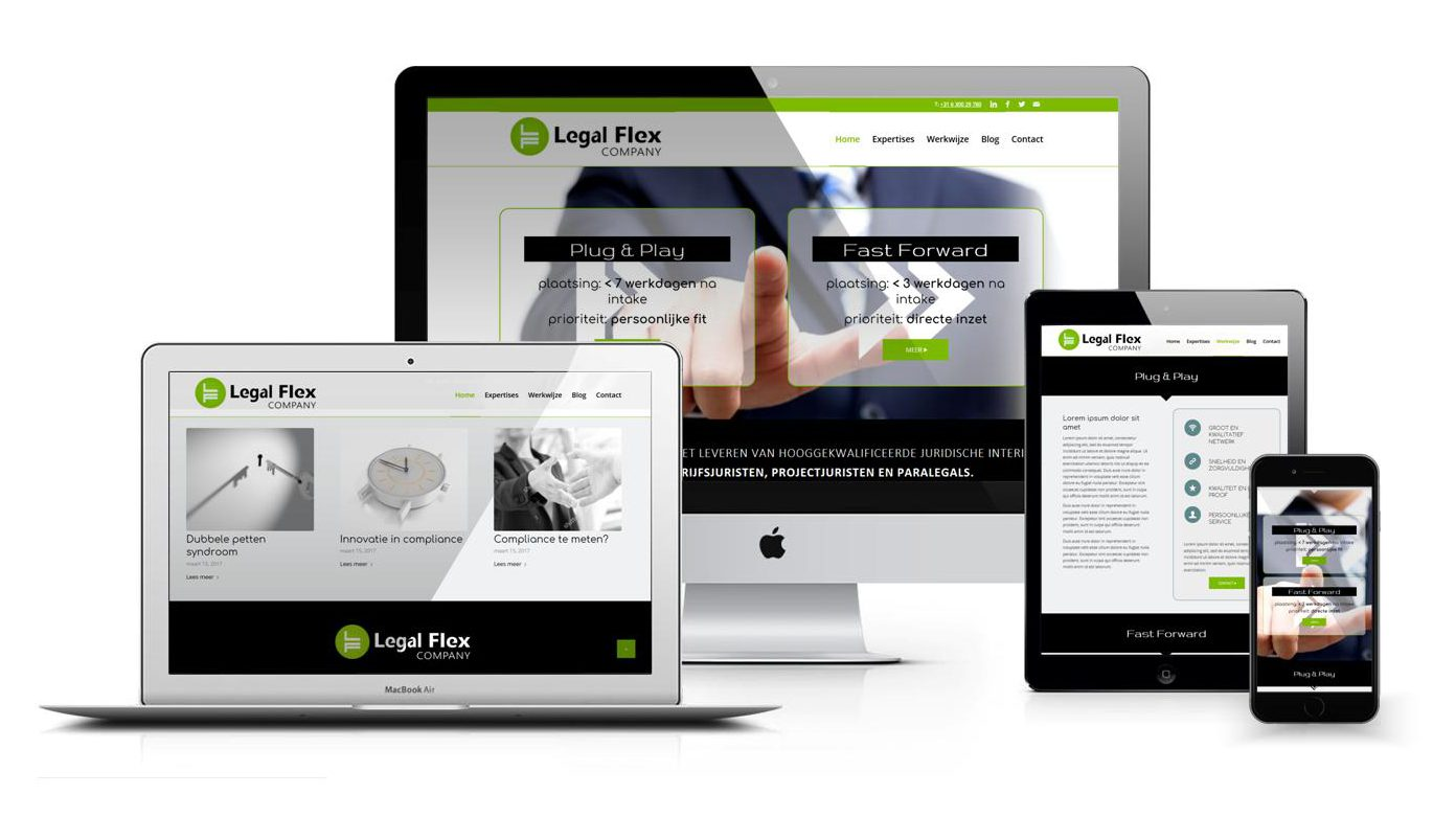 Bosch Flex Responsive Website Legal Flex Door Reclamebureau Bosch