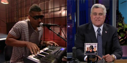 Jay Leno and Bosko on Tonight Show