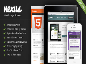 Nexus WordPress Corporate Theme