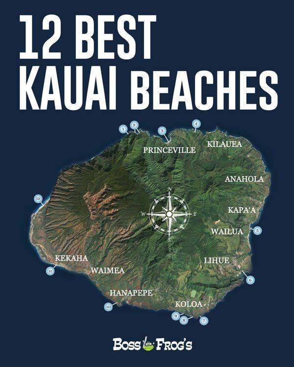 12 Best Kauai Beaches Videos, Photos, Snorkeling, Facilities  More!!