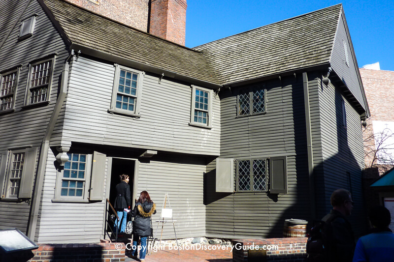 April Flights Paul Revere House - Tours And Events - Boston Discovery Guide