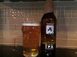 Ruhstaller Dixon Cascade IPA poured into a nonic pint glass