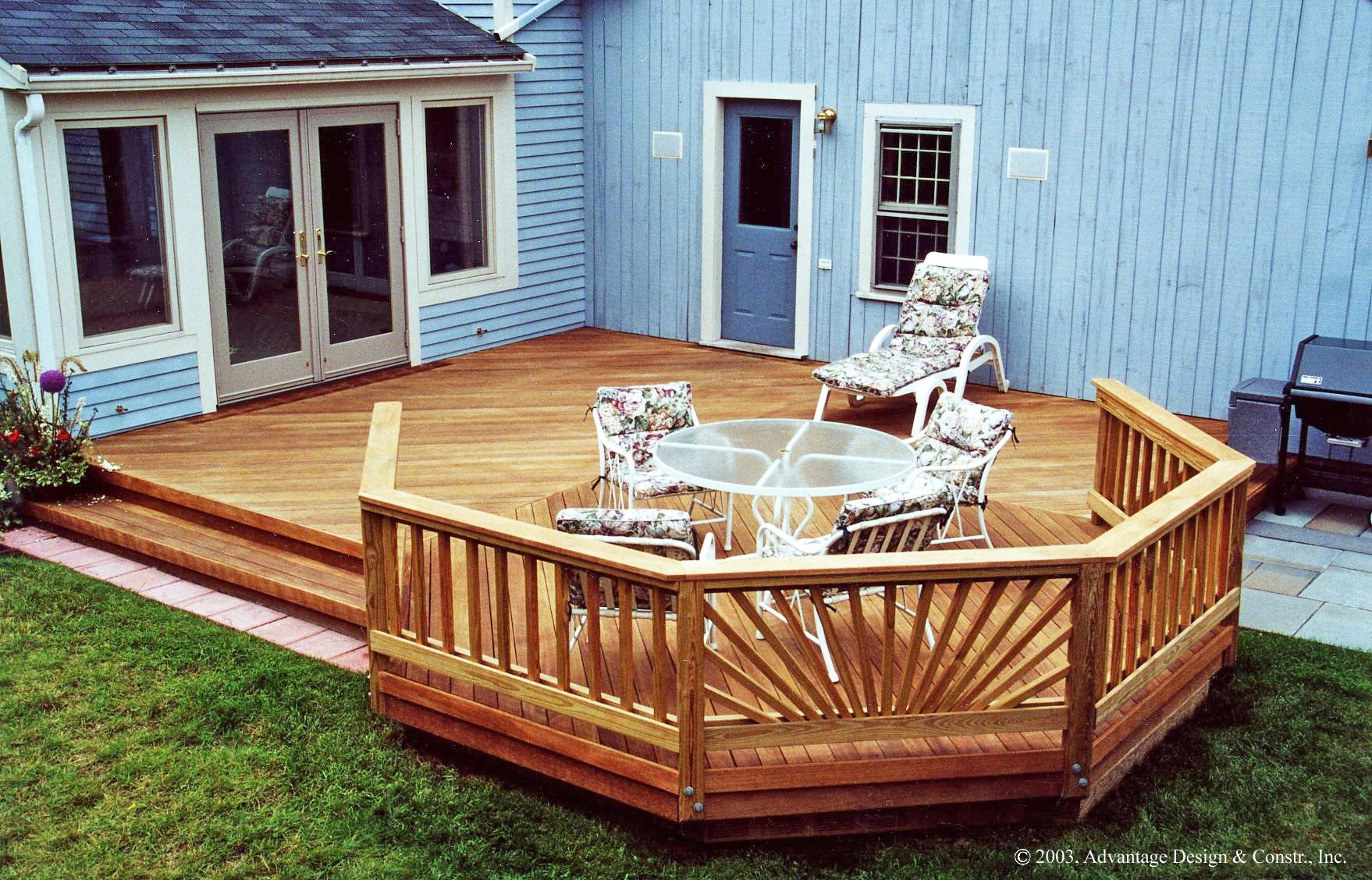 Choosing a Deck or a Patio?  Suburban Boston Decks and