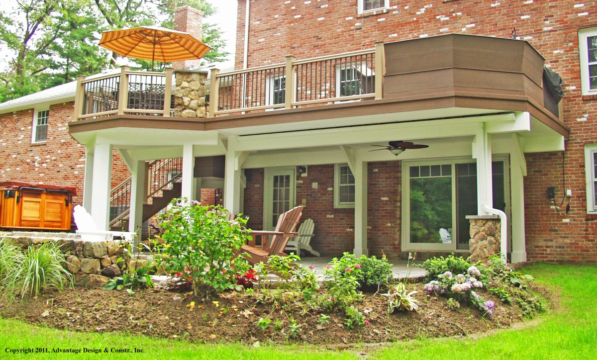"""What is a """"freestanding deck"""" and Why would you want one? – Suburban Boston Decks and Porches blog"""