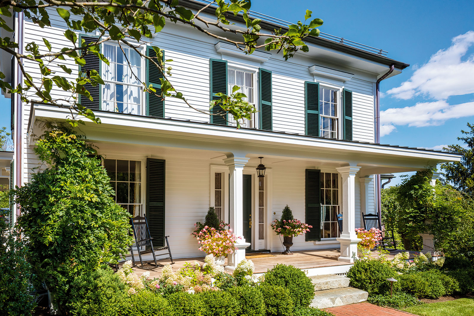 Italianate Farmhouse History In The Making A Belmont Renovation With A French Flourish
