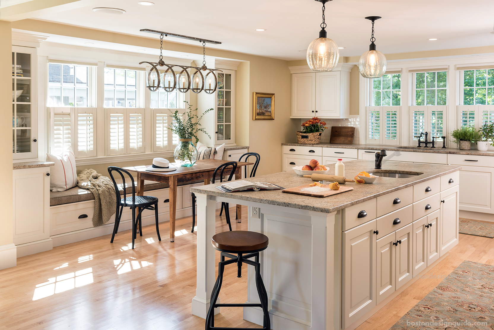 Kitchen Design Center A Historic Hingham Home Gets A Kitchen Makeover Boston Design Guide