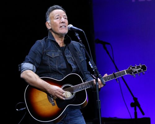 Bruce Springsteen performed at the 13th annual Stand Up For Heroes benefit concert at Madison Square Garden in New York on Nov. 4.