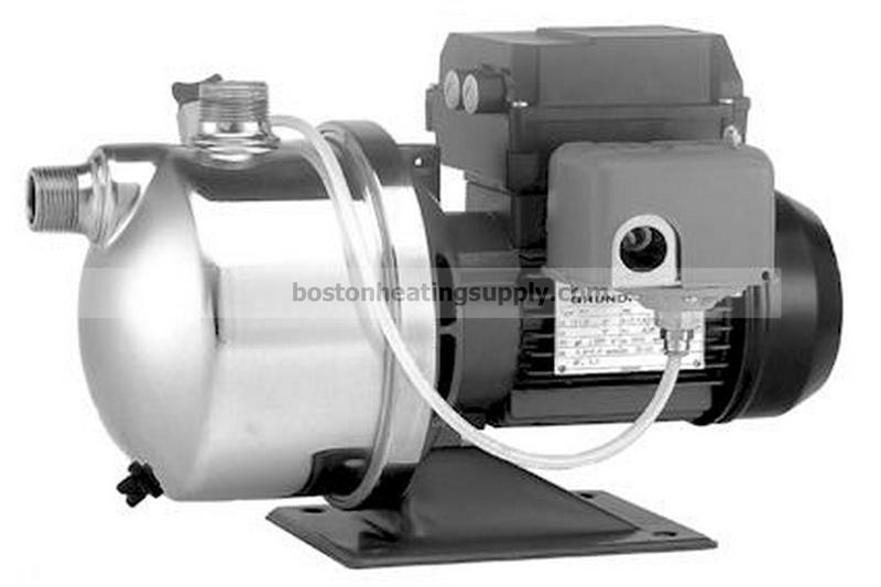 Jp4 47asi Shallow Well Jet Pump Stainless Steel 115v