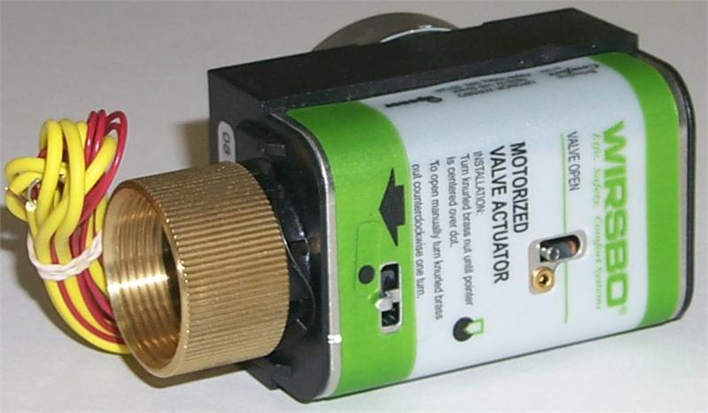 Uponor Motorized Valve Actuator (MVA), Four-Wire A3020522