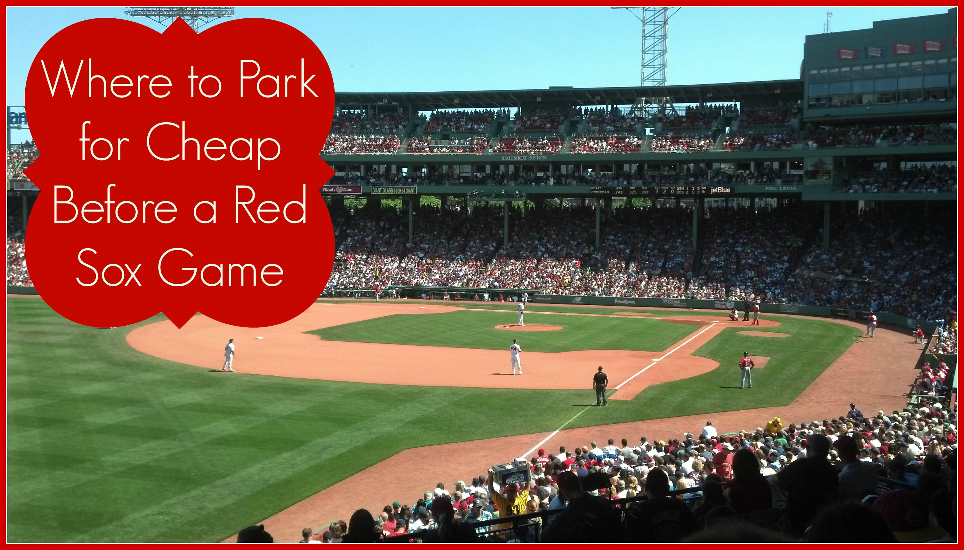 Cheapest Garage In Boston How To Save At Fenway Park Cheap Parking On Game Days Boston On